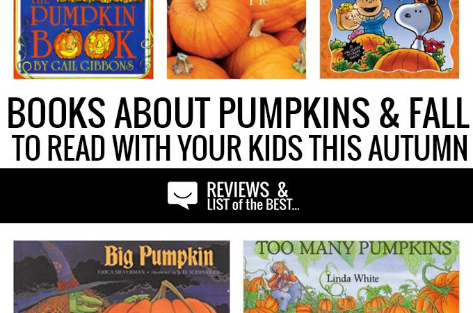 Kids' Fall reading list of Pumpkin Books for Children