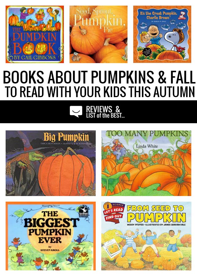 25 books about pumpkins. Children's literature that is set in the fall and has to do with seeds, pumpkins, and harvest.