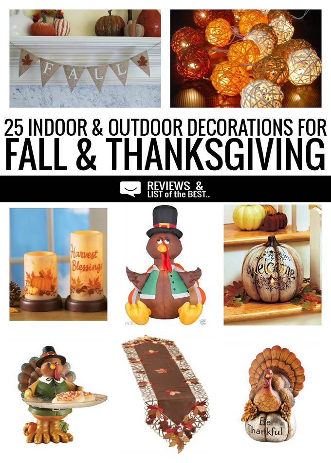 Cute and inexpensive thanksgiving and fall decorations
