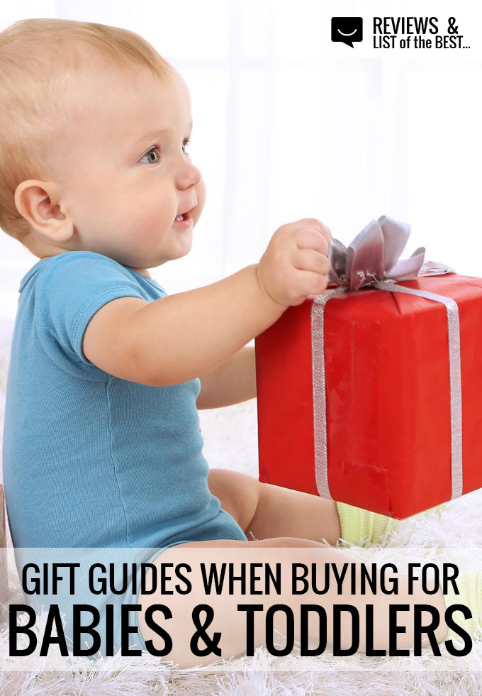 Lists of baby and toddler gift guides for every need. Buy presents based on interest, lifestyle, gender, and more with these great shopping lists!