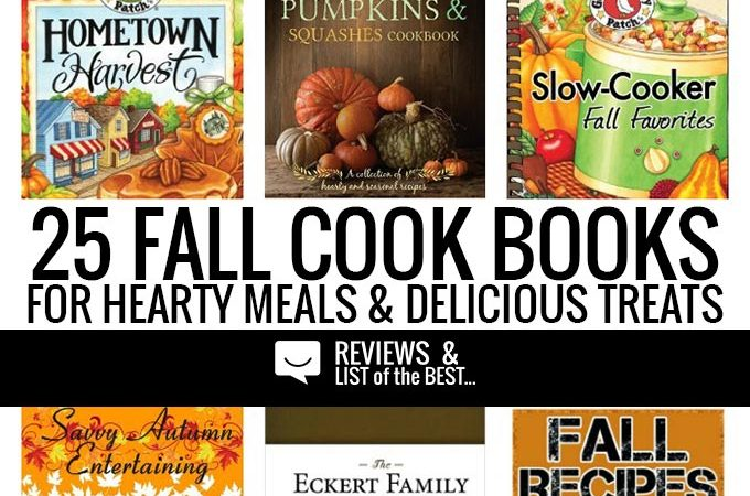 25 amazing cook books for hearty meals sweet treats this autumn