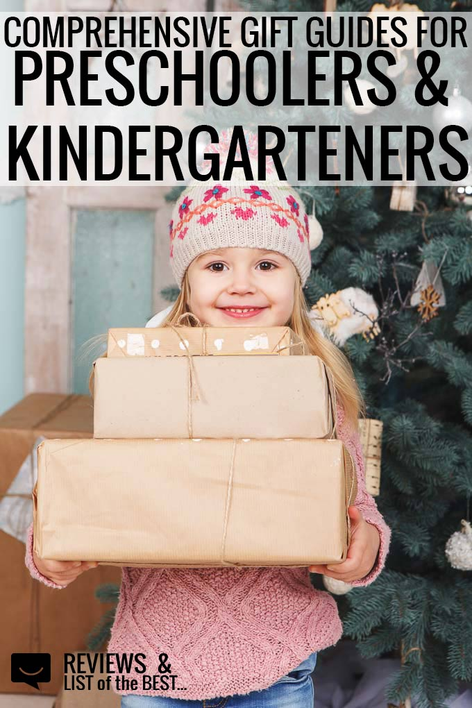 Gifts for preschool and kindergarten boys and girls. Multiple specific guides based on interest and price point.