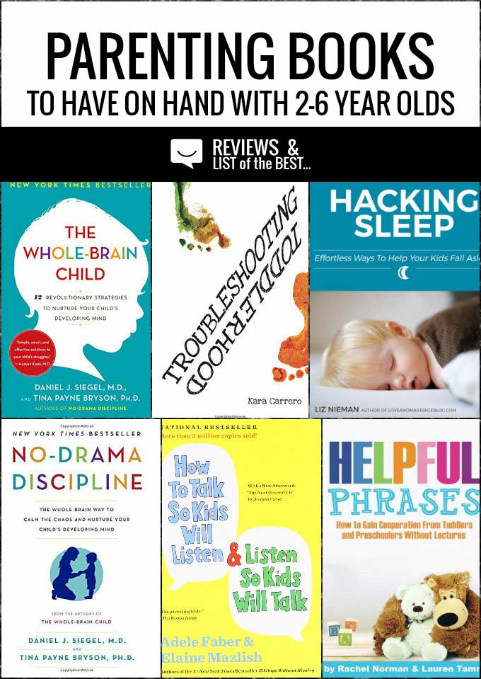 Amazing parenting books for the toddler and preschool years.