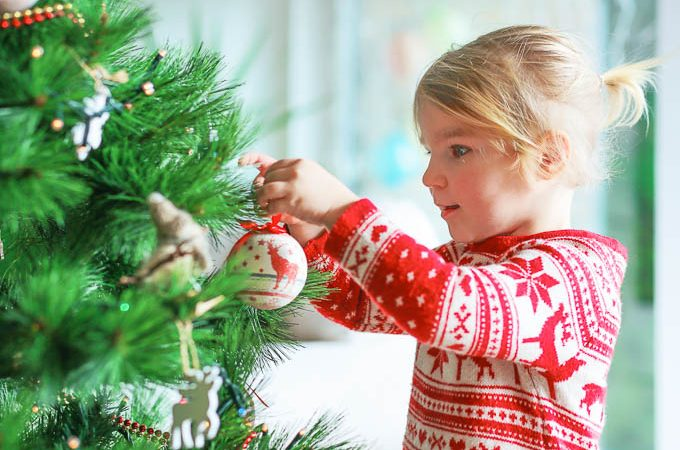 Protect your Christmas tree and kids from each other this holiday season.
