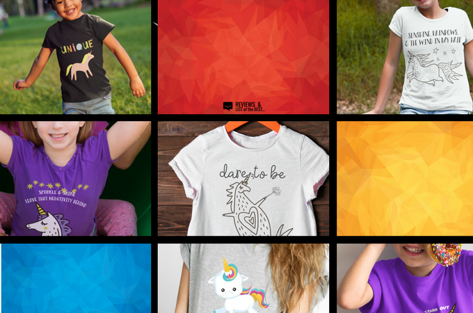 Unicorn shirts full of whimsy and magic