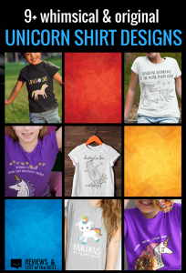 WHIMSICAL UNICORN SHIRT DESIGNS: Grab a unique short full of rainbows, sunshine, and unicorns with these awesome designs for kids and adults alike.